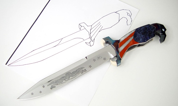 knife drawing designs - HD 1075×806