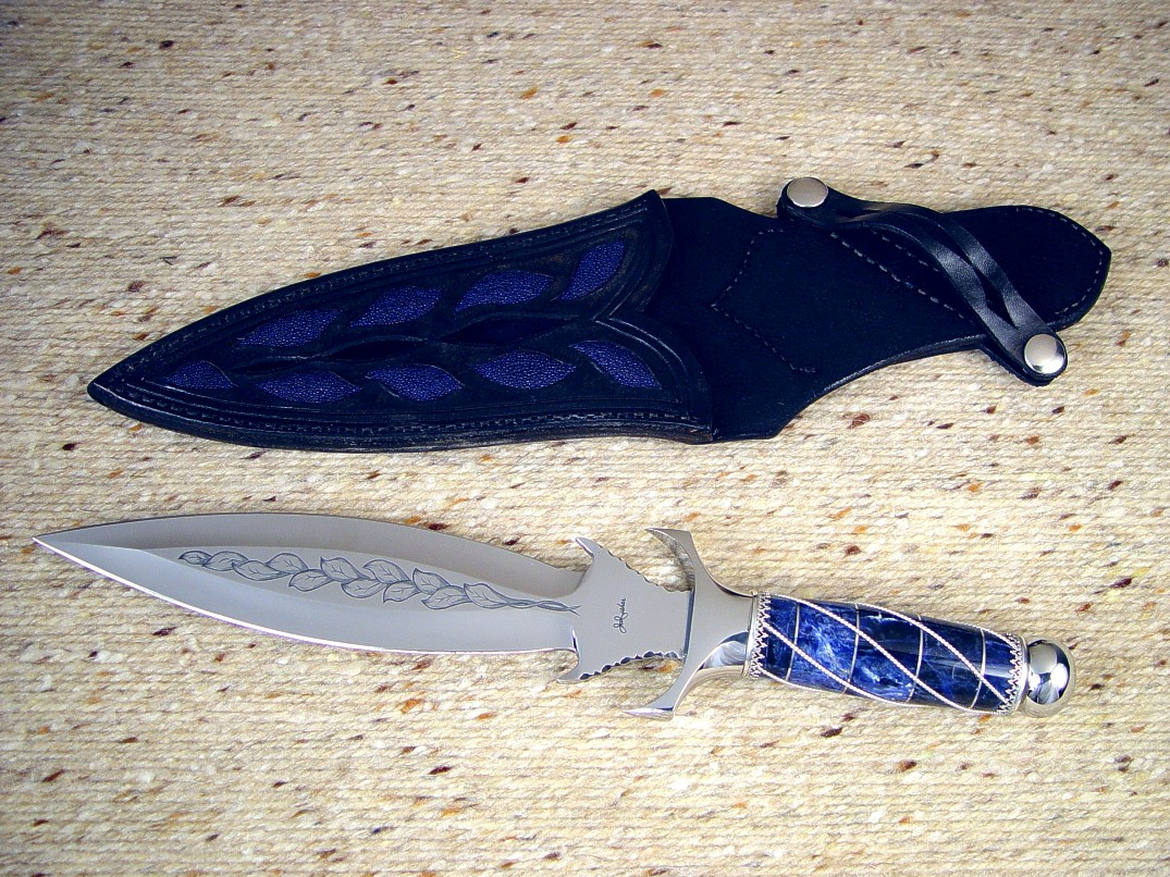 Quot Amethystine Quot Fine Handmade Custom Dagger By Jay Fisher