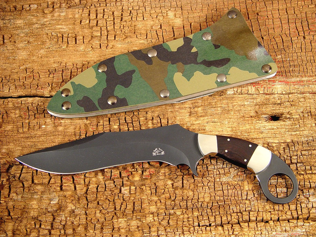 Quot Argiope Quot Fine Handmade Tactical Combat Knife By Jay Fisher