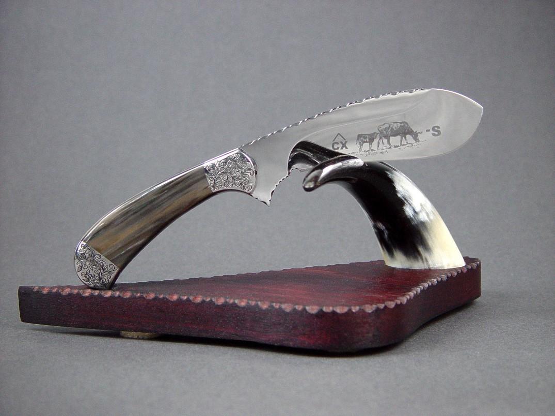 Quot The Cattleman Quot Handmade Custom Castrating Knife