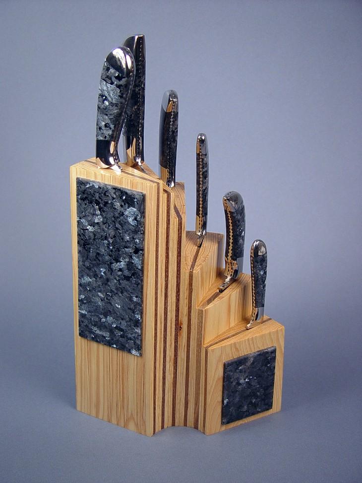 Quot Chef S Set Quot Fine Custom Handmade Kitchen Knife Set By Jay