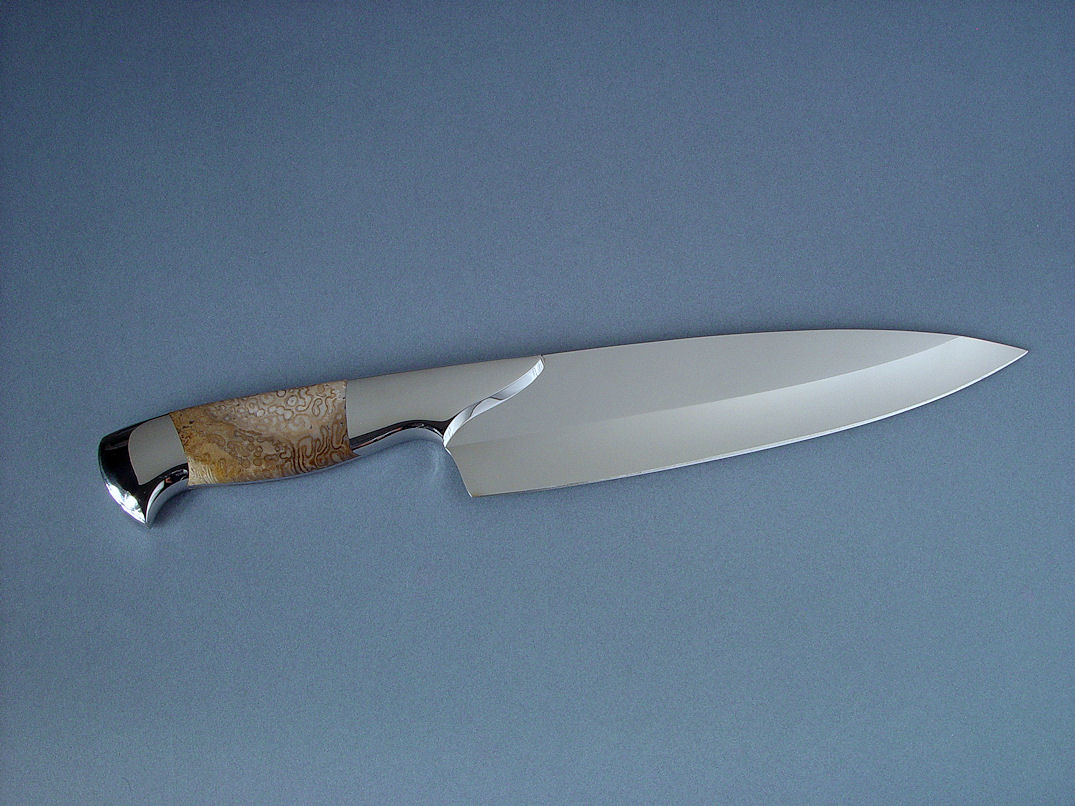 Quot Chef S Knife Set Quot Fine Gemstone Handled Knife Set And