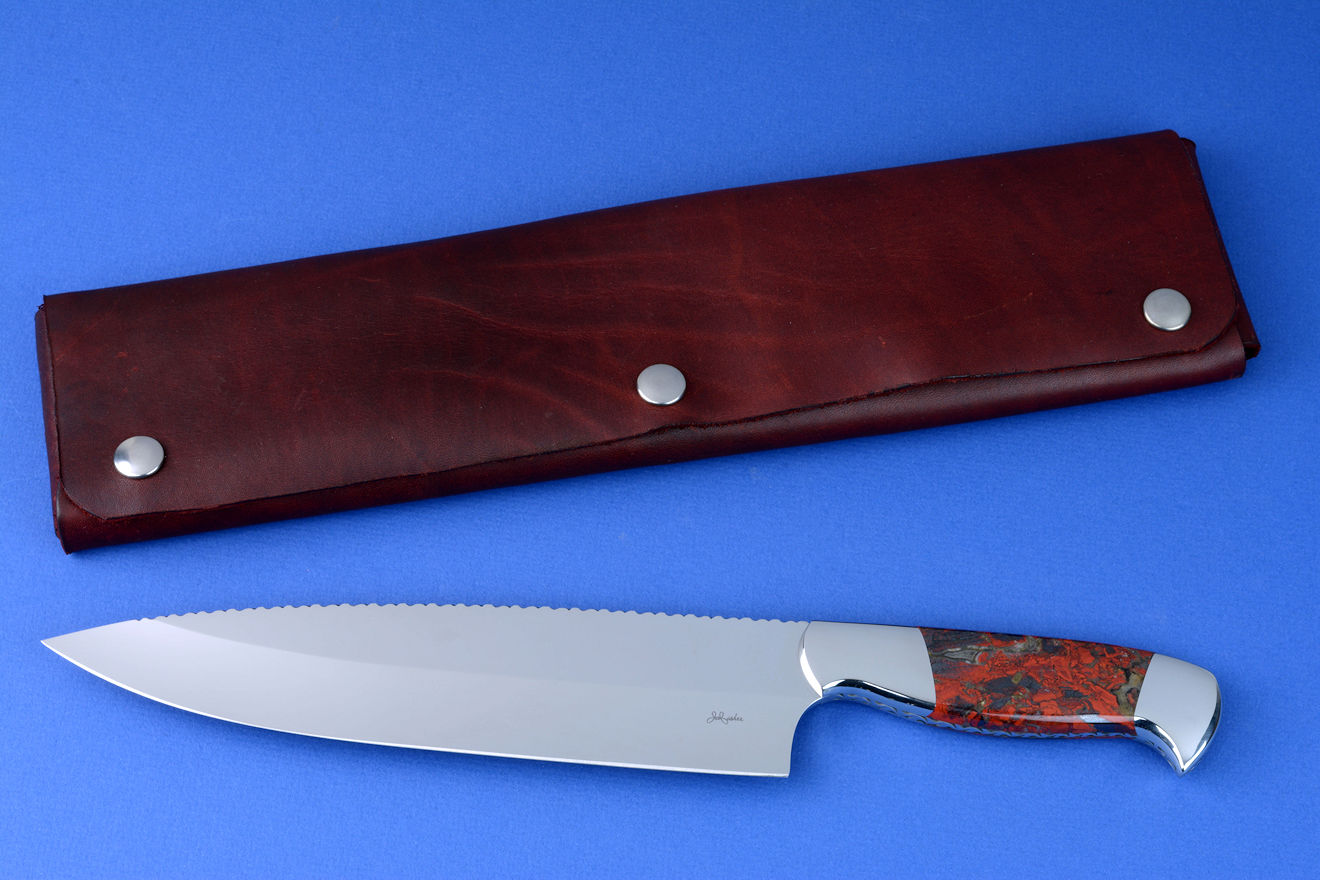 Quot Concordia Quot Fine Master Chef S Knife By Jay Fisher