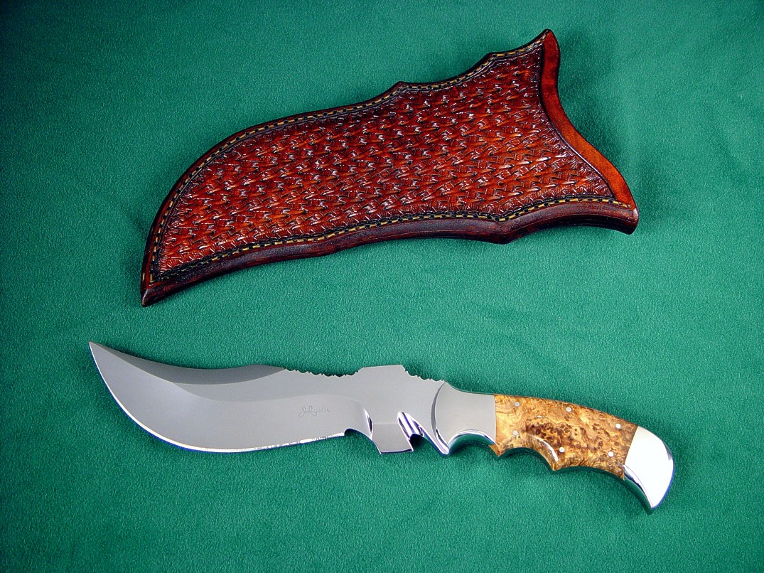 Quot Flamesteed Quot Fine Sere Rescue Survival Knife By Jay Fisher