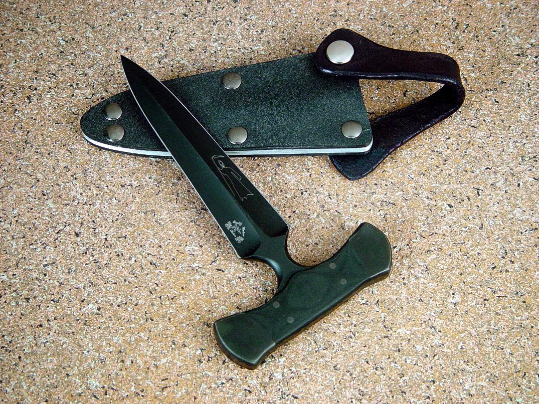 Quot Grim Reaper Quot Custom Made Combat Tactical Push Dagger By