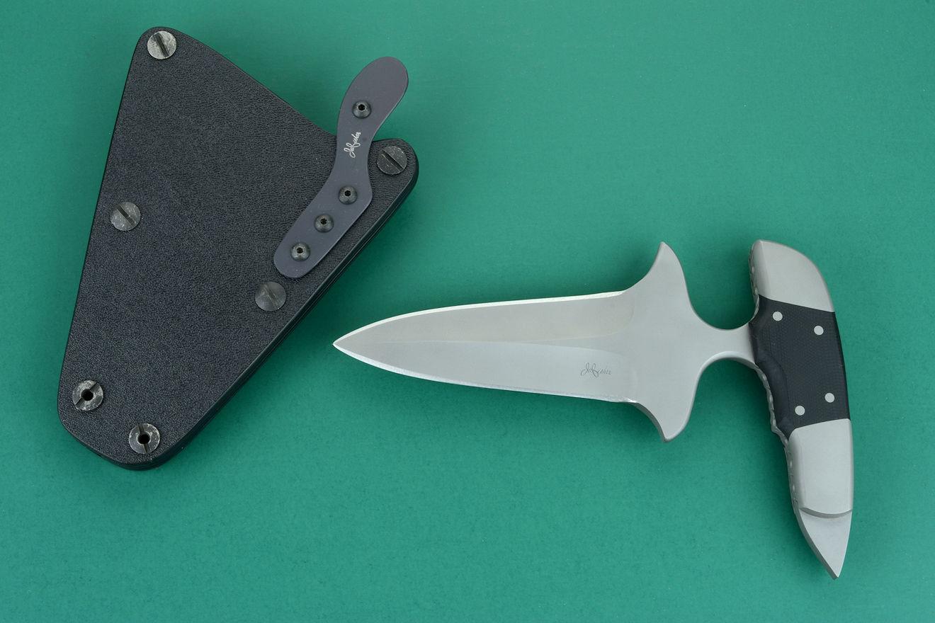 Quot Guardian Quot Counterterrorism Custom Push Punch Dagger By