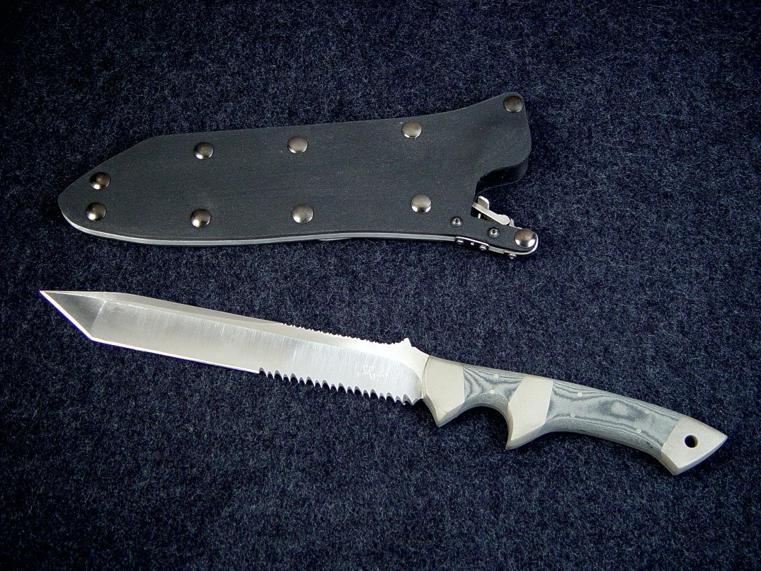 Quot Minuteman El Quot Handmade Custom Combat Tactical Knife By